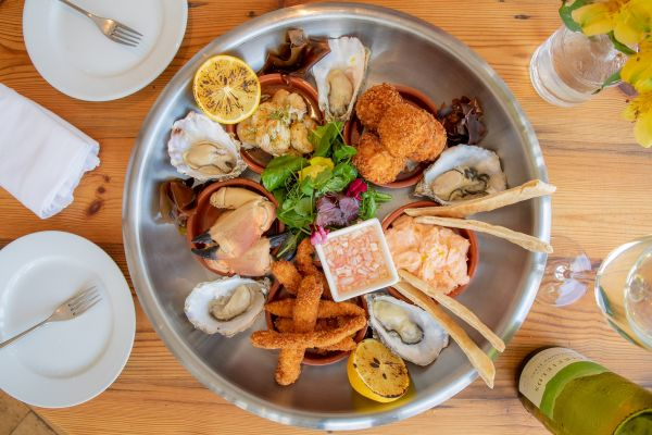 Seafood Platter at South Sands Hotel