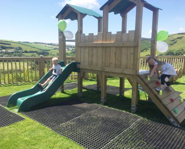 Children's Play Area at Valley View Cafe in Loddiswell