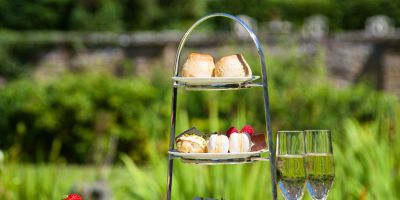 Afternoon Tea at Buckland Tout-Saints Hotel