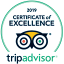 2019 Certificate of Excellence - Trip Advisor