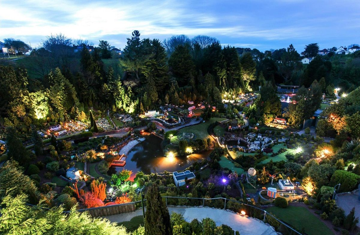 Evening Illuminations at Babbacombe Model Village