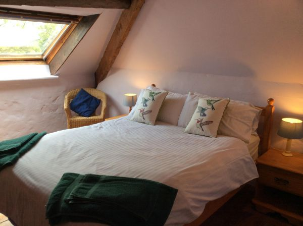 Bedroom in Coolings Barn Self Catering in East Prawle