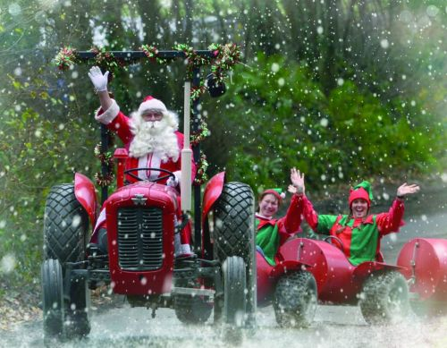 Father Christmas Arrives at Pennywell Farm