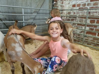 Goat Yoga with Simply Soulful