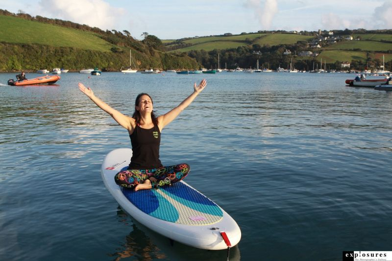 Stand Up Paddleboard Yoga with Simply Soulful