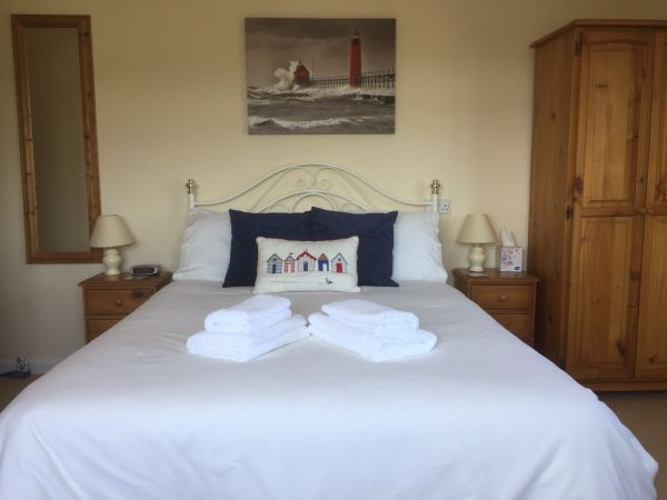 Double bedroom in Rosanne Bed & Breakfast, Kingsbridge
