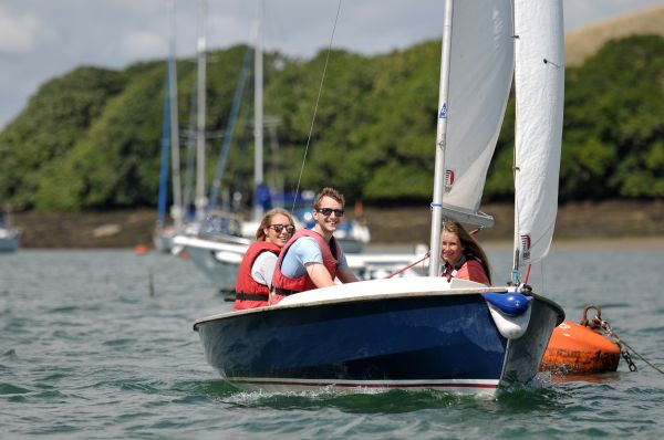 Private Tuition with Salcombe Dinghy Sailing