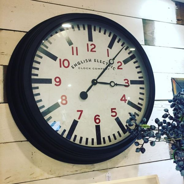 The Wood Shed Clock