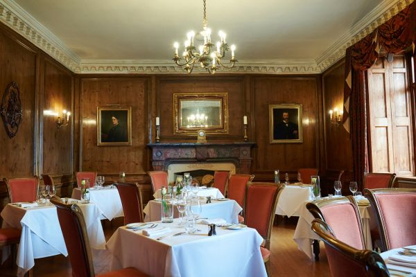 Dining Room at Buckland Tout-Saints Hotel
